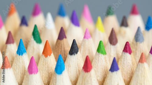 Fotografie, Tablou Leuchtende Farben - Farbtöne - Design