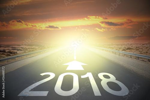 Fotografia  Road concept - 2018
