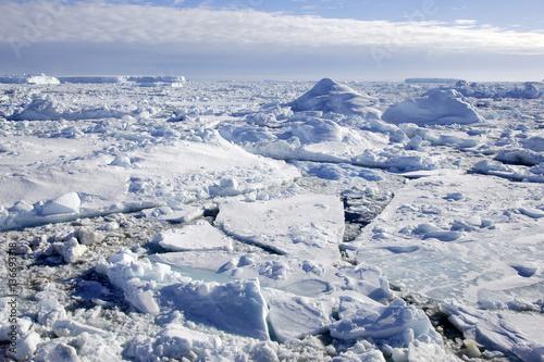 Foto op Plexiglas Arctica Banquise / Antarctique