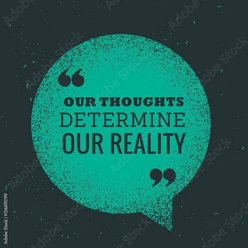 Fotografie, Obraz  blye chat bubble with motivational message quotation