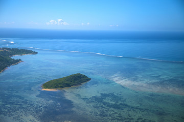 Fototapeta na wymiar Mauritius rajkie wakacje