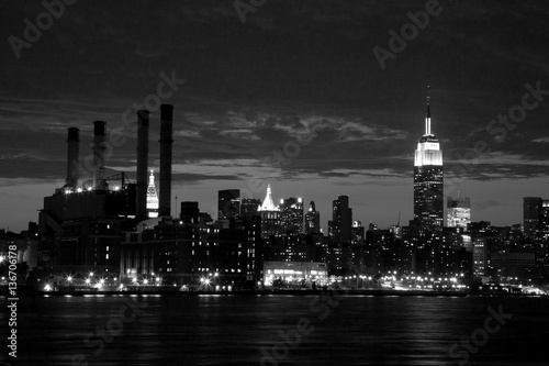 Fototapety, obrazy: NYC city skyline