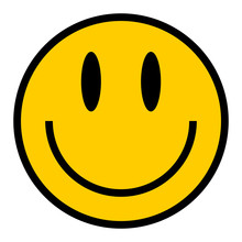 Smiley Icon Smiling Face Flat ...