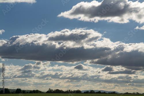 Fotografering  markanter himmel