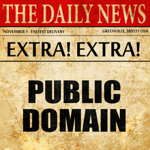 Public Domain, Article Text In...