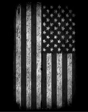 American Grunge Flag. An American Grunge Flag For A Background O