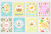 Happy Easter Greeting Card Col...