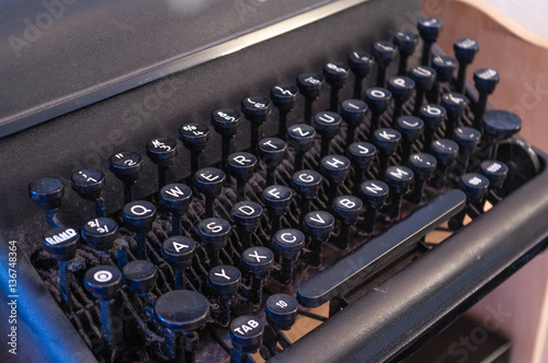 Papiers peints Retro Schreibmaschine