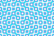 Continuous   Wide Retro Background - Vector Illustration