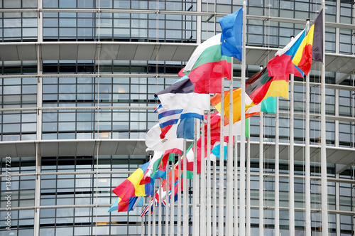 Photo  The European court in Strasbourg