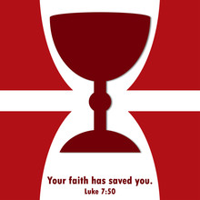 Symbol For Catholic Faith In Holy Eucharist