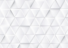 Abstract Luxury Triangles Back...