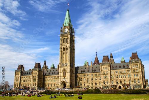 Fotografie, Obraz  Parliament of Canada