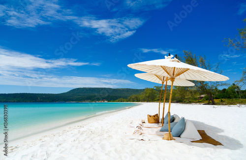Foto auf Gartenposter Strand Landscape of beautiful beach