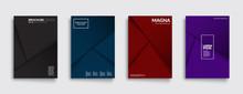 Futuristic Covers Set. Shapes ...