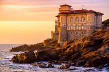 Boccale Castle On Tuscany Coast