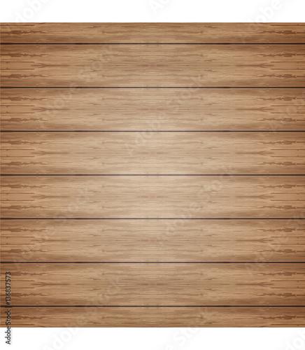 Fototapety, obrazy: Vector wood plank background
