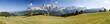 Panorama Berglandschaft in Südtirol