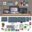 Programmer working cabinet