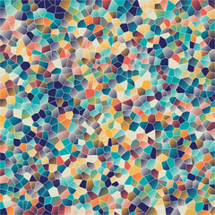 Fototapeta Mosaic backgrounds - vector illustration