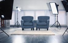 Photo Studio With Modern Inter...