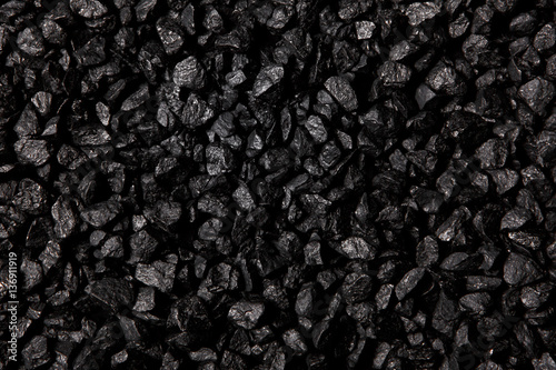 Fotomural Coal background