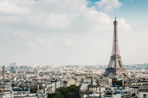 Papiers peints Paris Beautiful view on Paris in France