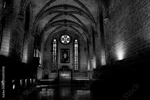 Fotografie, Obraz  Barbazan chapel at Pamplonas cathedral