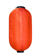 Chinese Festival Red Lantern On White Background