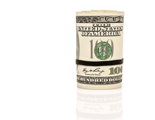 Roll Of One Hundred Dollars