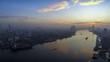Bangkok Sunrise over Chao Phraya River Timelapse