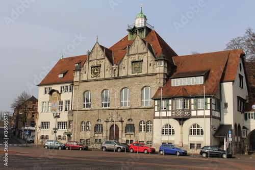 Zdjęcie XXL Rathaus Bergisch Gladbach z prawej strony