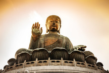 Buddha, Tian Tan Buddha At Po ...