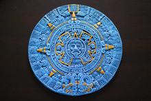 Aztec Calendar From Cancun Mexico