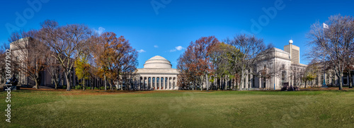 Fotografie, Obraz  Panoramic view of Massachusetts Institute of Technology (MIT) Dome - Cambridge,
