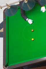 Snooker referee