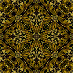 Fototapeta Linear pattern in art deco style