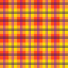 Seamless And Colorful Tartan Pattern With Stripes And Squares As A Background Or For Clothing Purposes - Eps10 Vector Graphics And Illustration