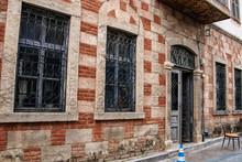 Ablaq Style Brick And Concrete