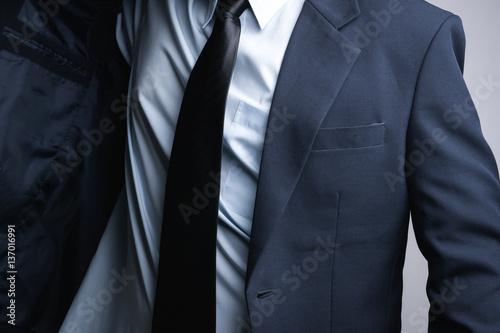 Fototapety, obrazy: Business man dressing up