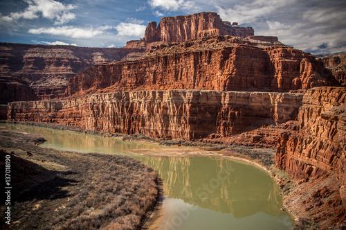 Foto op Aluminium Zalm Colorado River Canyon