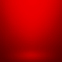 Abstract Red Gradient Background. Used As Background For Product Display - Vector