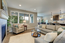 Family Room Interior Features ...