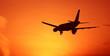 Sunset aircraft