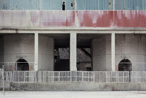 Papiers peints Les vieux bâtiments abandonnés Abandoned Old Factory