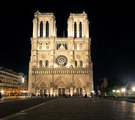 Katedra Matki Bożej Paryskiej. Paryż. Francja