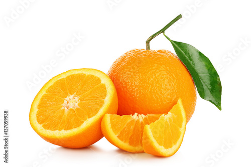 Poster Fruits orange fruit