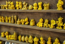 Original Candle Wax In The Form Of Fairy-tale Characters
