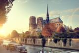 Fototapeta Fototapety Paryż - Notre-Dame cathedral in Paris