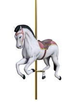 3D Rendering Carousel Horse On...